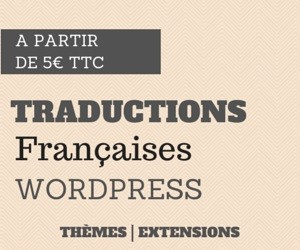 Traduction en français de thèmes et d'extensions WordPress