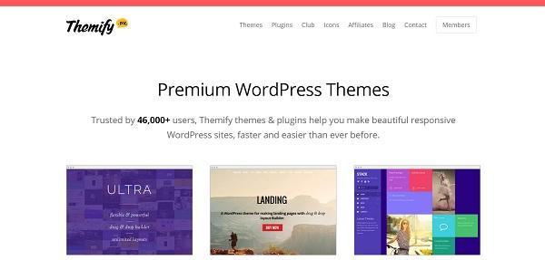 Themify: thèmes premium WordPress de toute beauté