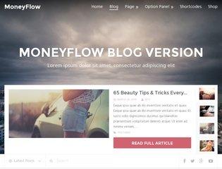 Le thème premium WordPress MoneyFlow est en promotion à 9$.