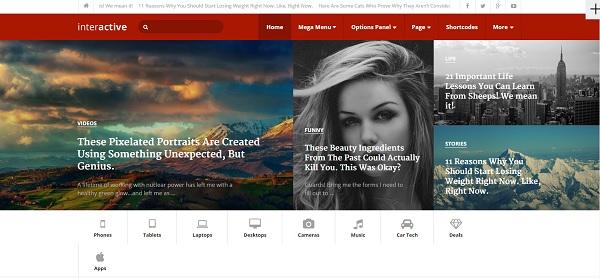 Thème-Interactive-pour-WordPress