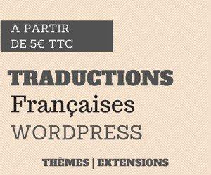 WP Traduction vous propose de nombreuses traductions françaises de thèmes et extensions WordPress.