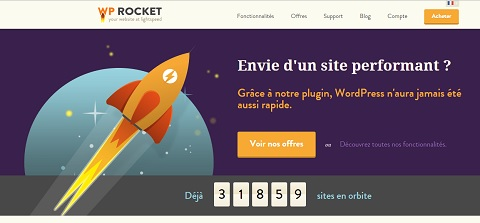 WP Rocket: excellent plugin de cache WordPress