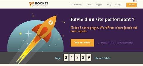 WP Rocket: excellent plugin de cache WordPress